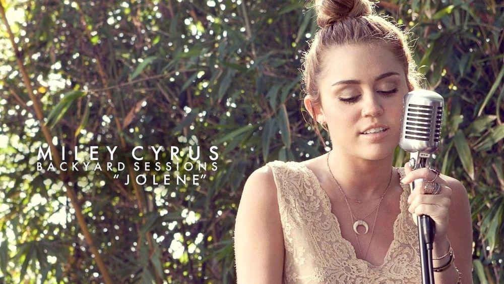 "Miley Cyrus - The Backyard Sessions - ""Jolene"" - Машки клуб"