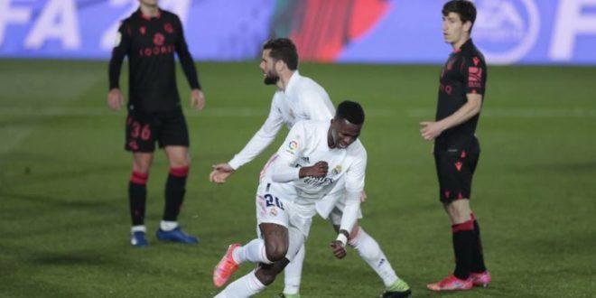 Реал Мадрид се лизна против Сосиедад и со тоа се оддалечи од борбата за титулата