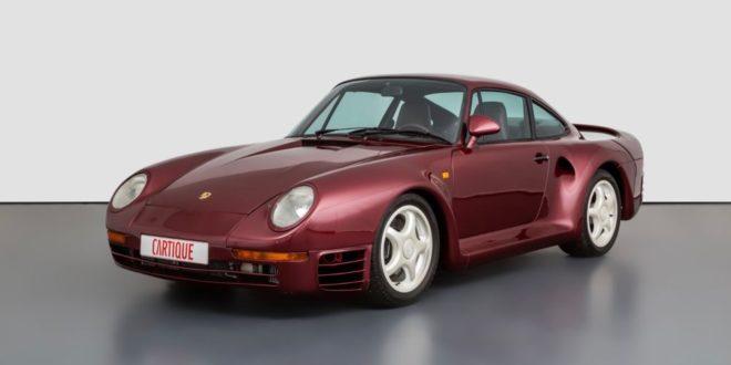 Прототипот на Порше 959 има богата историја и е одлична можност за колекционерите